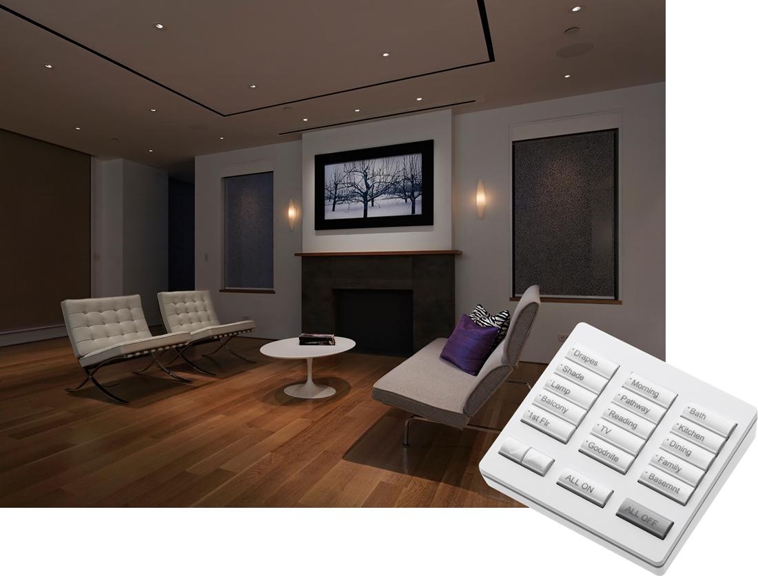 MBI Systèmes features services contrôle de l'éclairage après