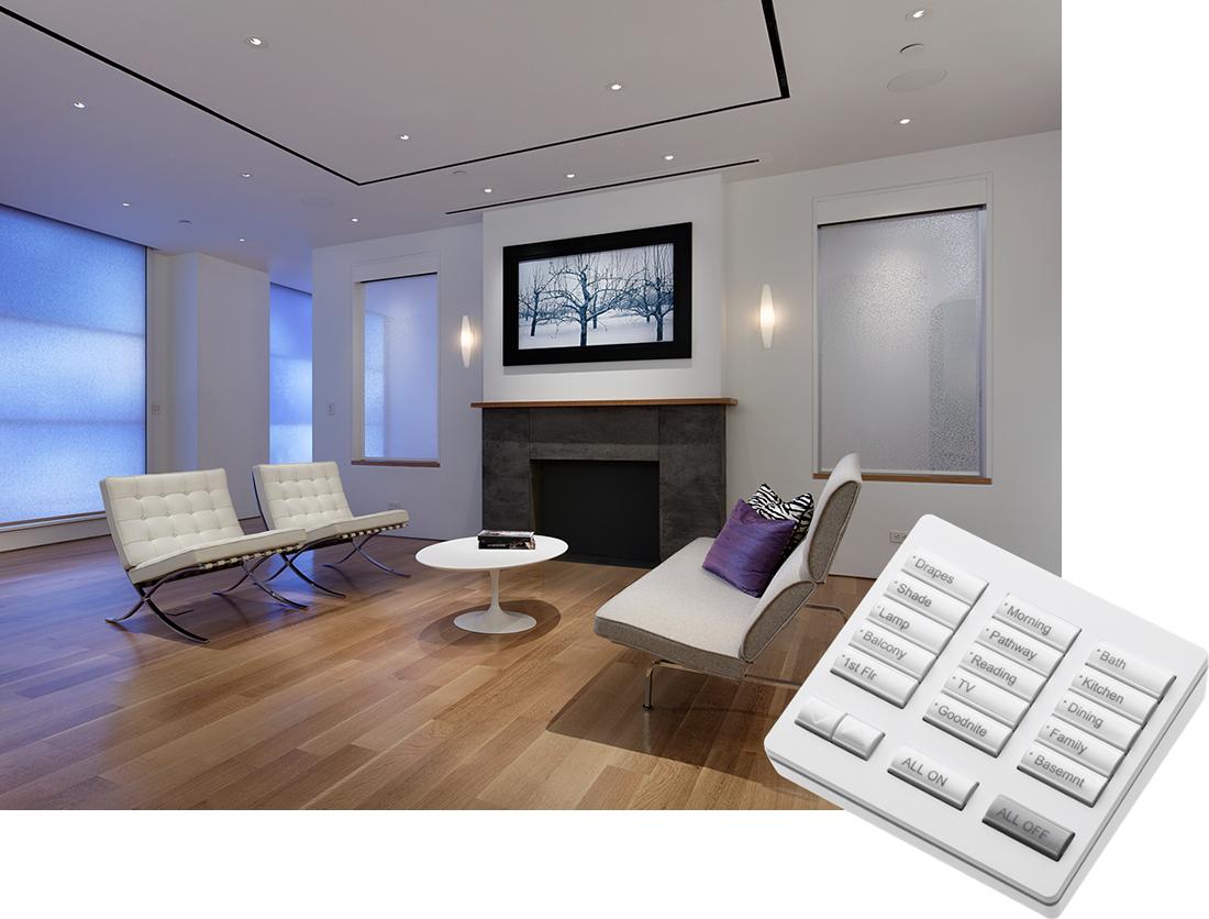 MBI Systèmes features services contrôle de l'éclairage avant